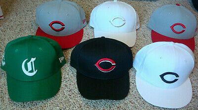 the best attitude afcc9 5574c Cincinnati Reds New Era Hat - MLB Authentic 59FIFTY Fitted Cap 5950 - Size  7 5