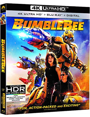 Bumblebee 4K Ultra Blu-ray Disc HD
