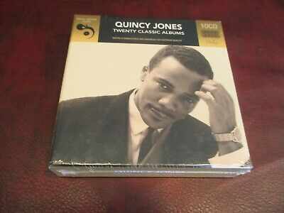 Quincy Jones 20 Classic Albums Limited Edition Out Of Print 10 Cd Box Set
