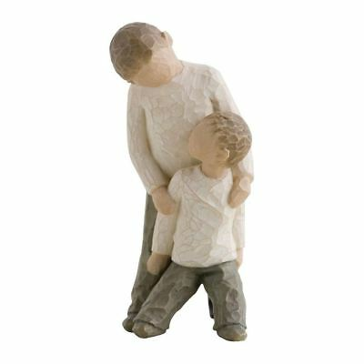 Willow Tree Brothers Figurine Resin Family Siblings Keepsake Ornament Gift Box