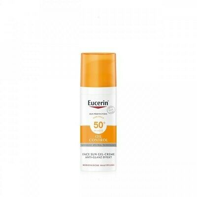 Eucerin Sun Protection Gel-Crema de rostro Dry Touch FPS50+ 50 ml