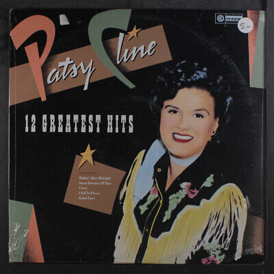 PATSY CLINE: 12 Greatest Hits LP Sealed (tears in shrink) Country