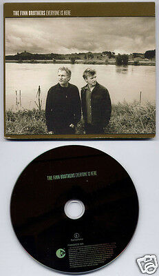 THE FINN BROTHERS Everyone Is Here UK 12-trk promo CD digipak FINNBROS001