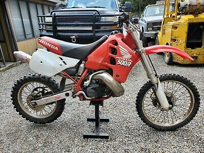 89 1989 CR500 CR 500 engine complete with carb & ignition parting bike out motor