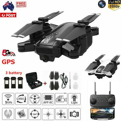 Drone x pro 5G Selfi WIFI FPV GPS With 1080P HD Camera Foldable RC Quadcopter PM