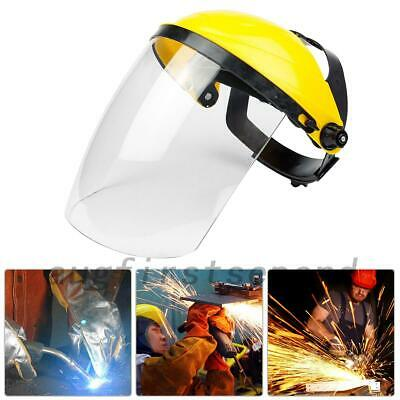 Protective Face Shield & Visor Clear Full Safety Workwear Eye Protection AU Post