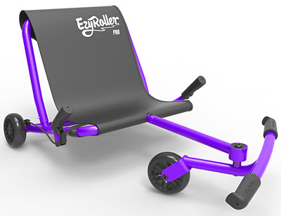 EzyRoller Drifter X Kids 3 Wheel Ride On Ultimate Riding Machine Purple NEW