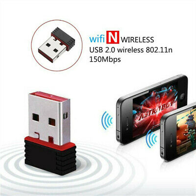Mini USB 2.0 802.11n 150Mbps Wifi Network Adapter for Windows Linux PC Popular