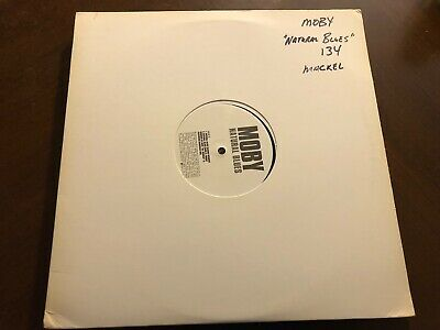 "Moby Natural Blues Vinyl 12"" Promo Rare"