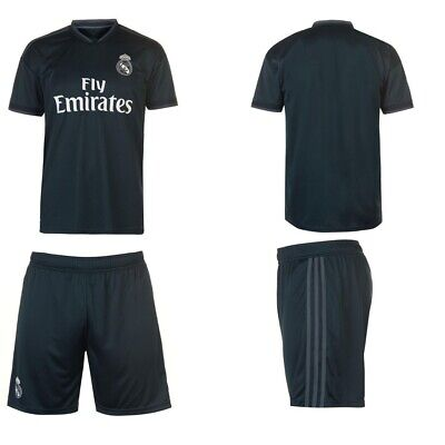f66d3408d New 15 Sets Real Madrid Away Soccer Uniforms Jersey And Shorts 2018/19 Adult