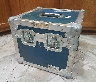 Vintage Jw Sessions Sons Heavy Duty Industrial Electronics Roadie Equipment Case