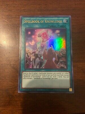 MP18-EN076 Near Mint Spellbook of Knowledge 1st Edition Engl Ultra Rare