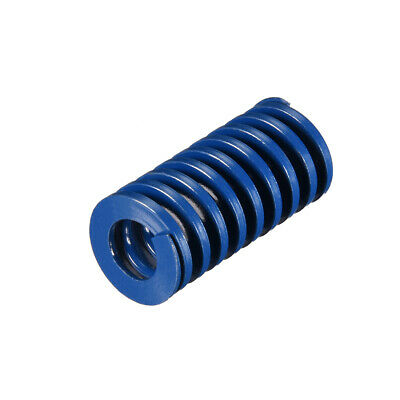 20x40mm Long Spiral Stamping Light Load Compression Mould Die Spring Blue 1Pcs