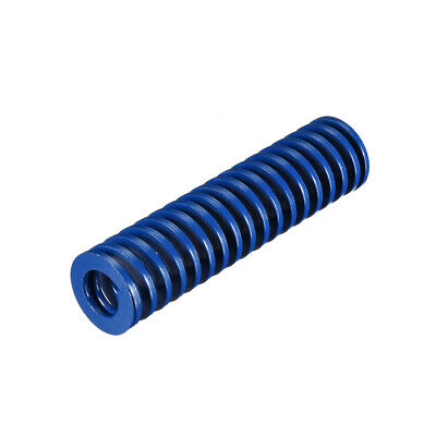 20x80mm Long Spiral Stamping Light Load Compression Mould Die Spring Blue 1Pcs