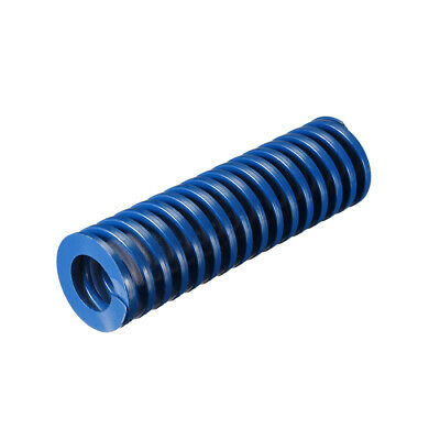 30x 100mm Long Spiral Stamping Light Load Compression Mould Die Spring Blue 1Pcs