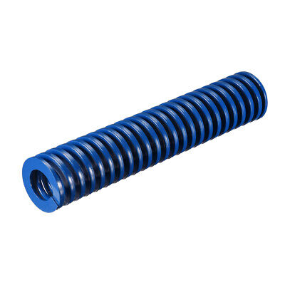 30x150mm Long Spiral Stamping Light Load Compression Mould Die Spring Blue 1Pcs