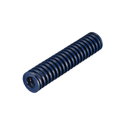 18x 80mm Long Spiral Stamping Light Load Compression Mould Die Spring Blue 1Pcs