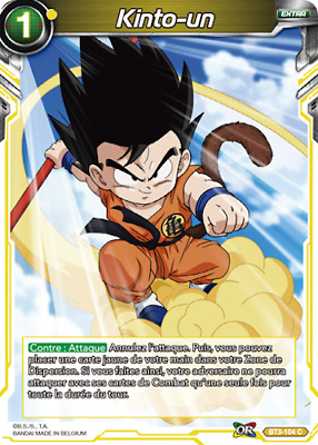 BT3-104 C : Kinto-un | carte Dragon Ball Super Card Game DBS FR