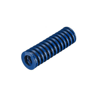 20x 60mm Long Spiral Stamping Light Load Compression Mould Die Spring Blue 1Pcs