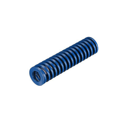 18x 70mm Long Spiral Stamping Light Load Compression Mould Die Spring Blue 1Pcs