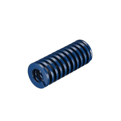 25x60mm Long Spiral Stamping Light Load Compression Mould Die Spring Blue 1Pcs