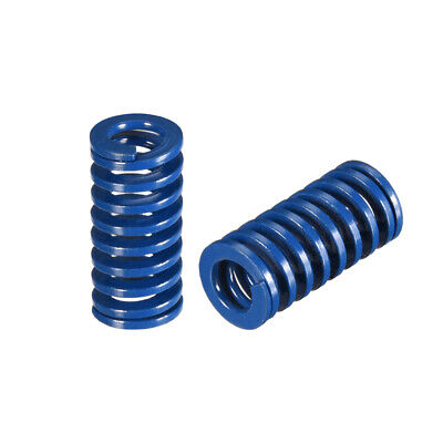 10x 20mm Spiral Stamping Light Load Compression Mould Die Spring Blue 2Pcs