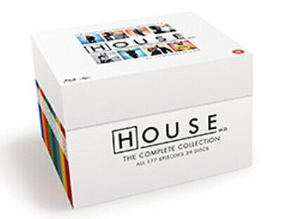 House Md Seasons 1 To 8 Complete Collection Blu-Ray [Uk] New Bluray