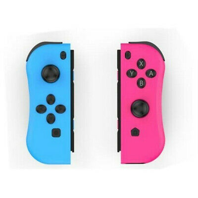 1 Pair Joy-con Game Gamepad Handle Controller Left & Right Grip Nintendo Switch
