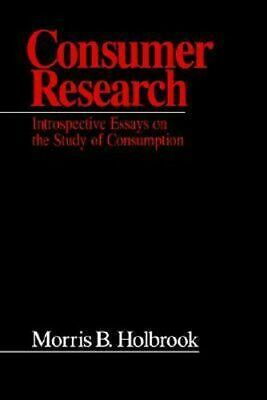 NEW Consumer Research By Morris B. Holbrook Paperback Free Shipping