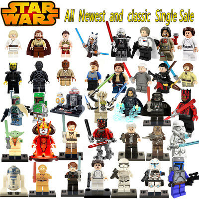 Figurines Figures Blocks Star Wars Compatible Lego