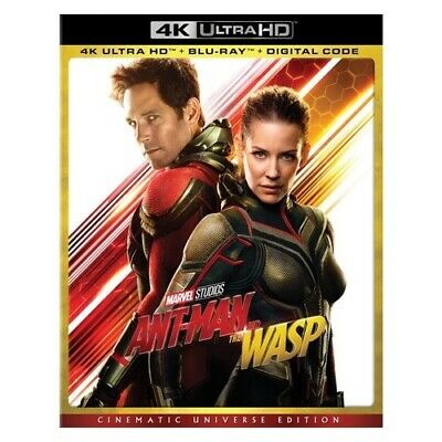 Buena Vista-Marvel Br149952 Ant-Man & The Wasp (Blu-Ray/4K-Uhd/Digital/Cinema...