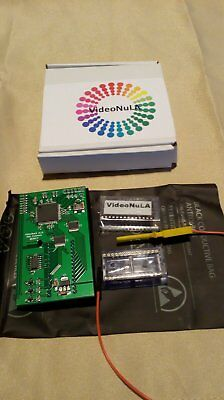 Acorn BBC Micro VideoNuLA Graphics Enhancer 4096 colours + new ZX Spectrum mode!
