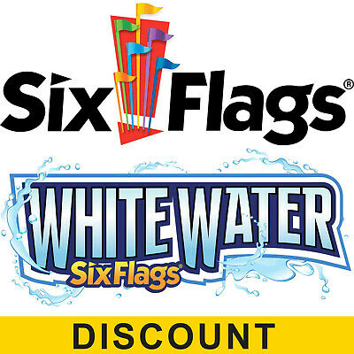 $46.00 Off Six Flags Over Georgia and White Water Tickets - Digital Discount