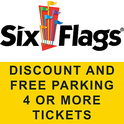 $133.00 Discount Tool 4 Six Flags Over Georgia Hurricane Harbor Tix Free Parking