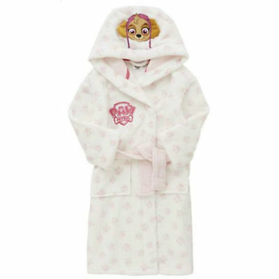 Girls Nickelodeon Paw Patrol Skye Dressing Gown / Robe  AGE 4 - 5 YEARS BNWT