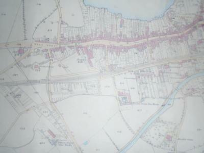 west lothian linlithgow 1856 ordnance survey map 25 inch to mile