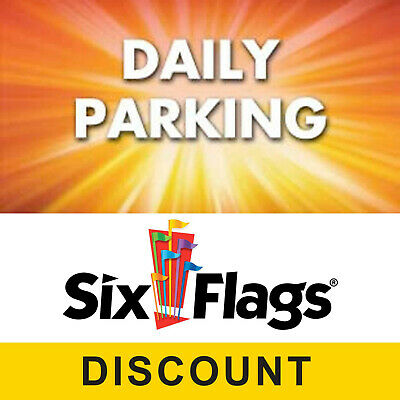 Save $15.00 on Six Flags Great Adventure Parking Pass - Digital Discount Code