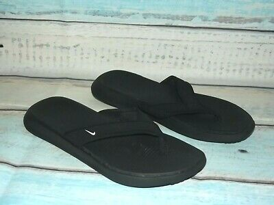 8f815f358 NIKE MEN S ULTRA Celso Thong Sandal Black FlipFlop Casual Slippers ...