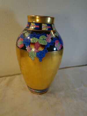 Early 1900's Pickard Hand Painted Vase Part of a Series