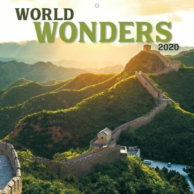 2020 World Wonders 2020 Mini Wall Calendar,  by Wells Street by LANG