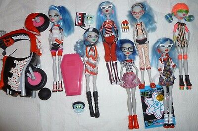 Monster High Ghoulia Yelps First wave Geek Dead Tired Deaducation Roller Scooter