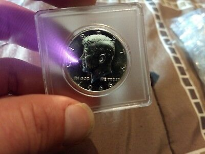 SILVER KENNEDY 1966CAM SMS Half Dollar  UNCIRCULATED!! LOOK! WOW!!!