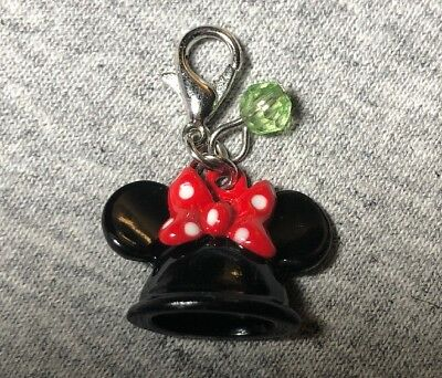 Disney Parks Charmed In The Park- Minnie Mouse Ear Hat Charm