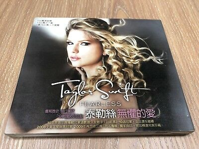TAYLOR SWIFT FEARLESS Taiwan CD w/BOX 2009 Love Story Our