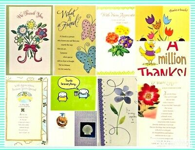 Greeting Cards Lot Of 500 Assorted Holidays Thank You Funny Friendship Grad