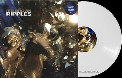 IAN BROWN LP Ripples Stone Roses 2019 WHITE VINYL Limited First World Problems