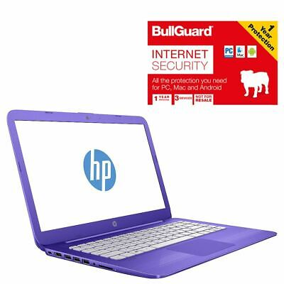 "HP Stream 14-AX002NA 14"" Notebook 4GB 32GB With BullGuard Internet Security"