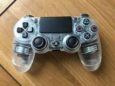 Official Sony PS4 PlayStation 4 DualShock Custom V2 Controller - Clear