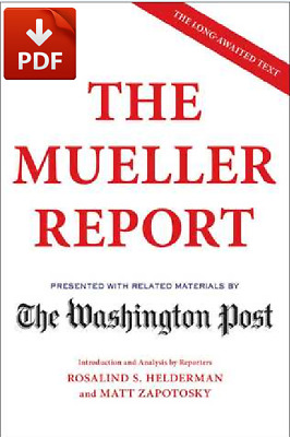 The Mueller Report by : The Washington Post  (PDF B0OK )