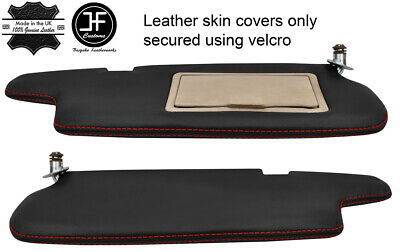 red stitch FITS TOYOTA STARLET 96-99 HANDBRAKE LEATHER HANDLE COVER ONLY